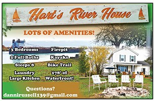 harts river vacation house
